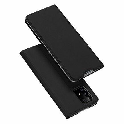 Skin Pro pouzdro s klapkou Samsung Galaxy S10 Lite černé