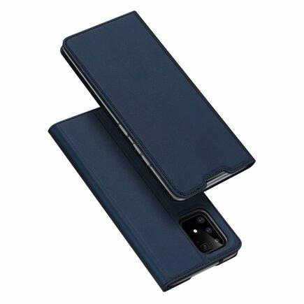 Skin Pro pouzdro s klapkou Samsung Galaxy S10 Lite modré