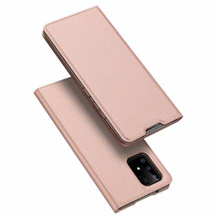 Skin Pro pouzdro s klapkou Samsung Galaxy S10 Lite růžové