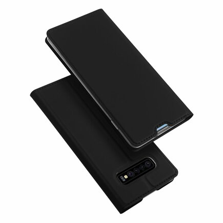 Skin Pro pouzdro s klapkou Samsung Galaxy S10 Plus černé