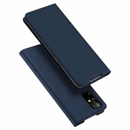 Skin Pro pouzdro s klapkou Samsung Galaxy S20 Plus modré