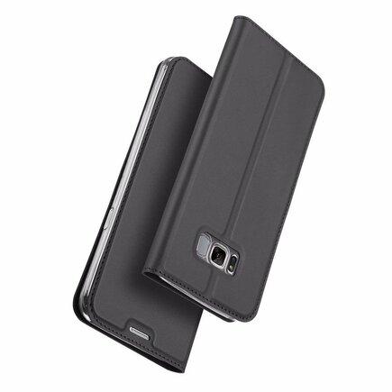 Skin Pro pouzdro s klapkou Samsung Galaxy S8 G950 šedé