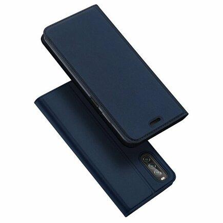 Skin Pro pouzdro s klapkou Sony Xperia 10 II modré