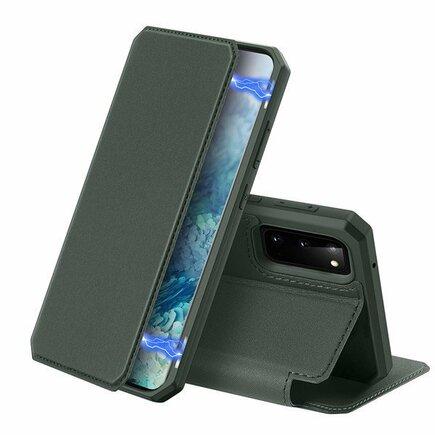 Skin X pouzdro s klapkou Samsung Galaxy S20 zelené