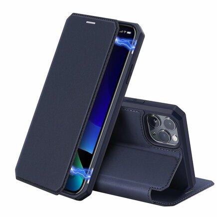 Skin X pouzdro s klapkou iPhone 11 Pro modré