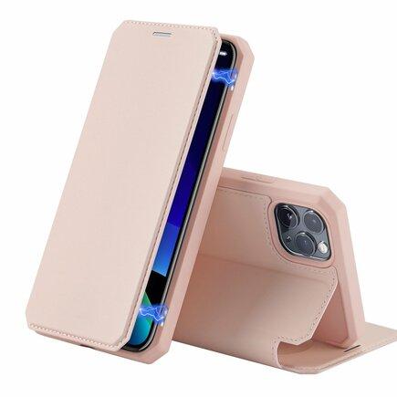 Skin X pouzdro s klapkou iPhone 11 Pro růžové