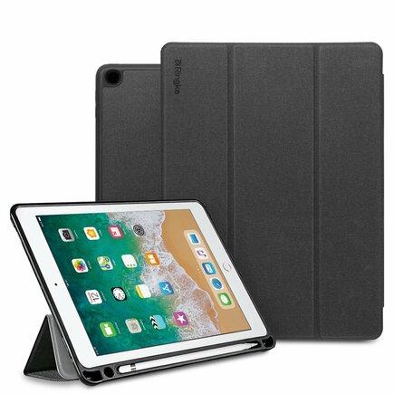 Smart Case pouzdro na tablet Smart Sleep s podstavcem iPad 9.7 2018 černé (PDAP0001-RPKG)