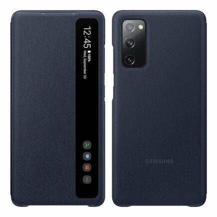 Smart Clear View Standing Cover antibakteriální pouzdro s inteligentní klapkou Samsung Galaxy S20 FE 5G modré (EF-ZG780CNEGEE)
