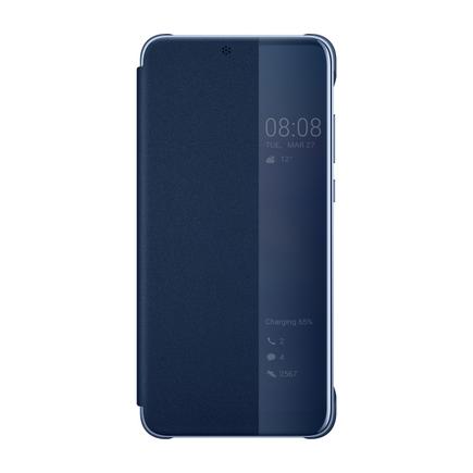 Smart View Flip Cover pouzdro s klapkou typu Smart Huawei P20 modré