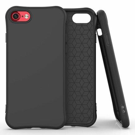 Soft Color Case elastické gelové pouzdro iPhone SE 2020 / iPhone 8 / iPhone 7 černé