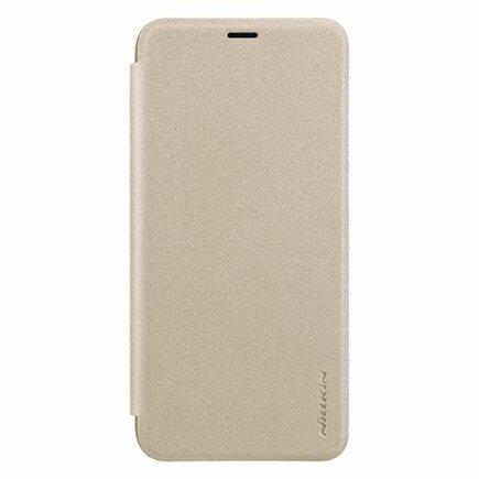 Sparkle kožené pouzdro Huawei Honor 9 Lite zlaté