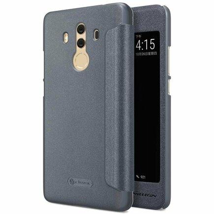 Sparkle kožené pouzdro Huawei Mate 10 Pro černé