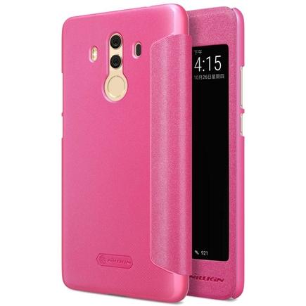 Sparkle kožené pouzdro Huawei Mate 10 Pro červené
