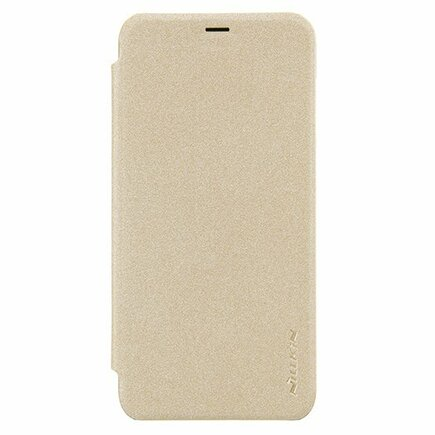 Sparkle kožené pouzdro Huawei P Smart zlaté