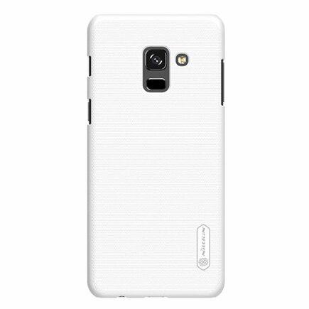 Super Frosted Shield zesílené pouzdro + fólie Samsung Galaxy A8 2018 A530 bílé