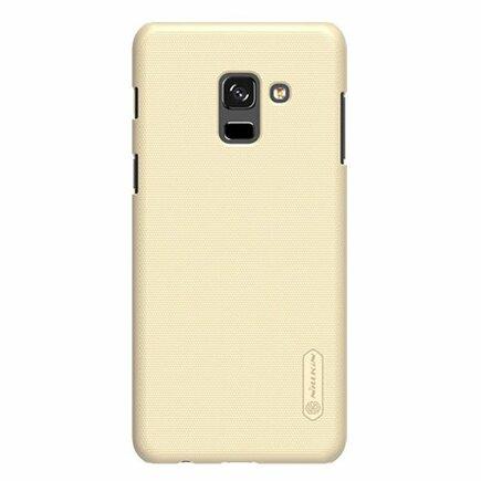 Super Frosted Shield zesílené pouzdro + fólie Samsung Galaxy A8 2018 A530 zlaté