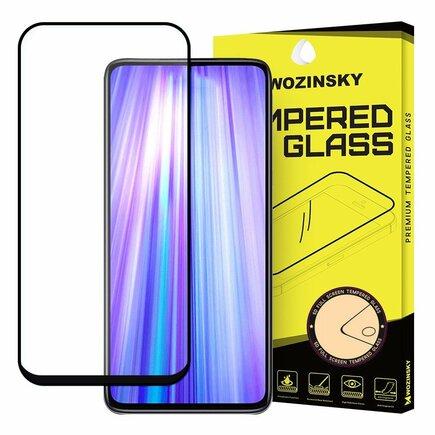 Super odolné tvrzené sklo Full Glue na celý displej s rámem Case Friendly Asus Zenfone 6 ZS630KL černé