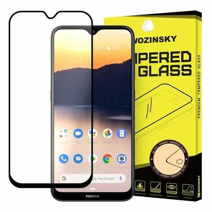 Super odolné tvrzené sklo Full Glue na celý displej s rámem Case Friendly Nokia 2.3 černé