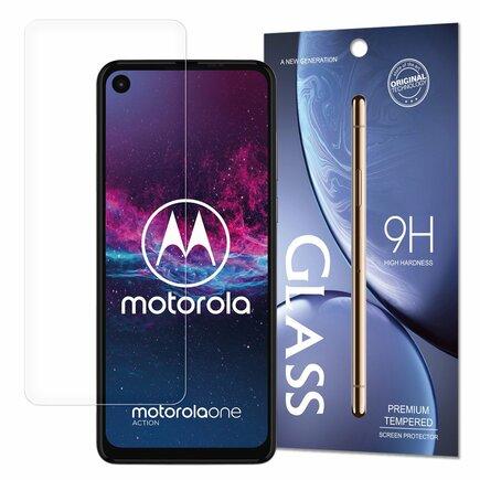 Tempered Glass tvrzené sklo 9H Motorola One Action / Motorola One Vision (balení - obálka)