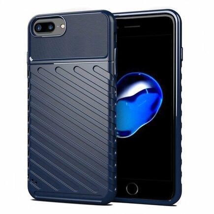 Thunder Case elastické pancéřové pouzdro iPhone 8 Plus / iPhone 7 Plus modré