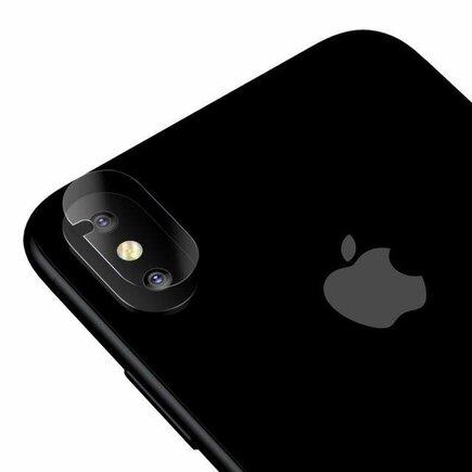 Tvrzené sklo 9H na objektiv kamery iPhone XS / X 3 ks