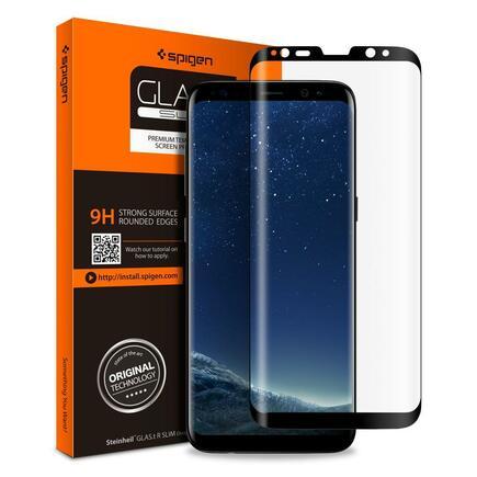 Tvrzené sklo Glas.TR Case Friendly Galaxy S8 černé