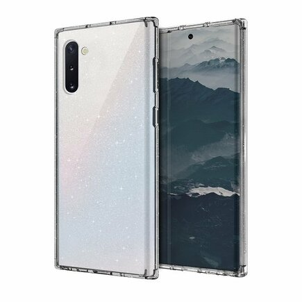 UNIQ Pouzdro LifePro Tinsel Samsung Note 10 N970 průsvitné/crystal clear
