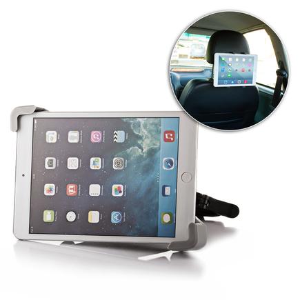 Univerzální držák do auta na záhlaví pro tablet 7-10 palců černý