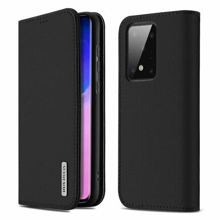 Wish kožené pouzdro Samsung Galaxy S20 Ultra černé