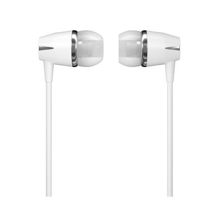 Y6 sluchátka 3.5mm mini jack s ovládáním bílá (Y6 white)