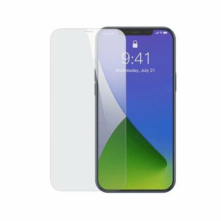 Baseus 2x tvrzené sklo 0,3 mm iPhone 12 Pro / iPhone 12 průsvitné (SGAPIPH61P-LS02)