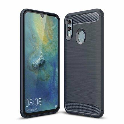 Carbon Case elastické pouzdro Huawei P Smart 2019 modré