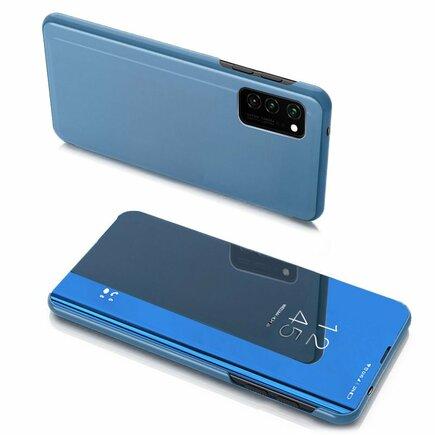 Clear View Case pouzdro s klapkou Samsung Galaxy Note 20 modré