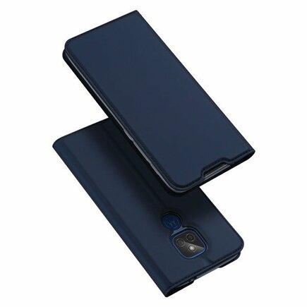 DUX DUCIS Skin Pro pouzdro s klapkou Motorola Moto G9 Play / Moto E7 Plus modré