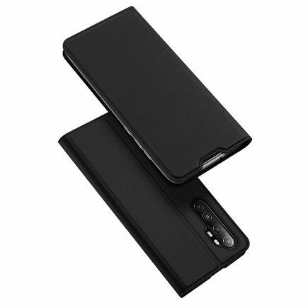 DUX DUCIS Skin Pro pouzdro s klapkou Xiaomi Mi Note 10 Lite černé