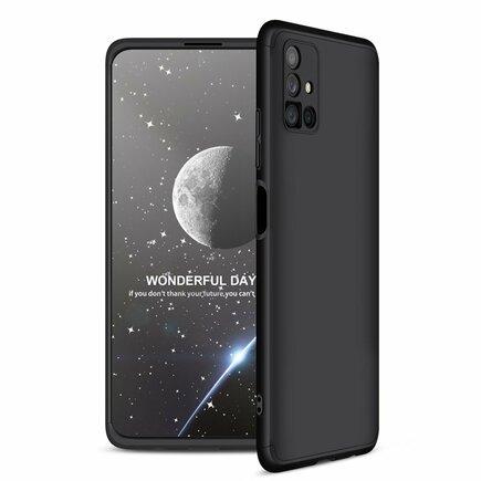 GKK 360 Protection Case pouzdro na přední i zadní část telefonu Samsung Galaxy M51 černé