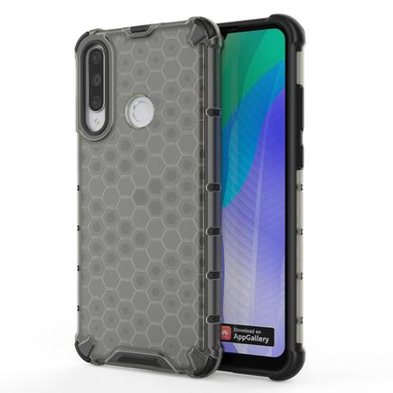 Honeycomb pancéřové pouzdro s gelovým rámem Huawei Y6p černé