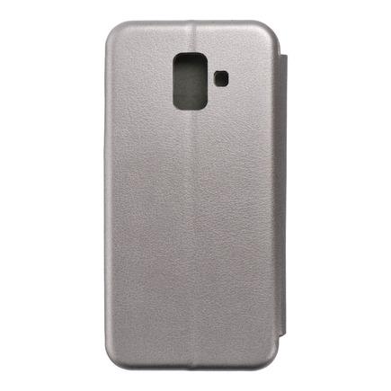 Pouzdro Book Elegance Samsung A6 2018 šedé