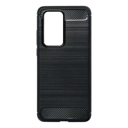 Pouzdro Carbon Huawei P40 Pro černé