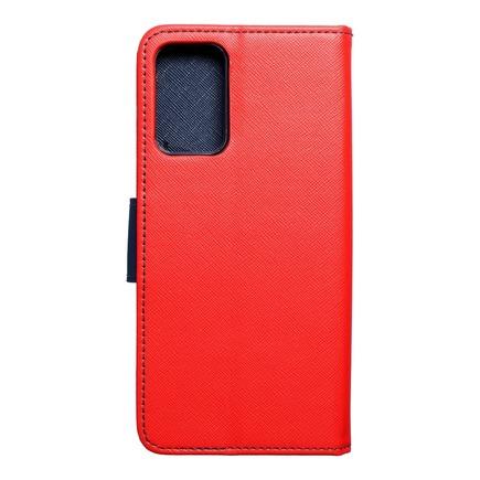 Pouzdro Fancy Book Samsung A72 5G červené/tmavě modré