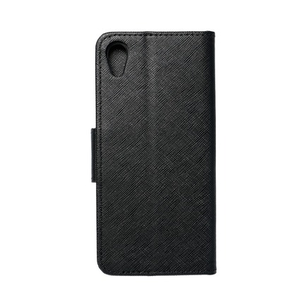 Pouzdro Fancy Book Sony Xperia XA1 černé