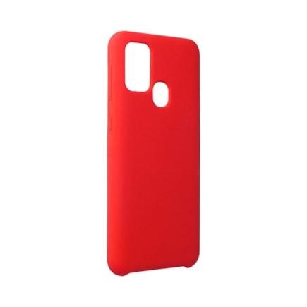 Pouzdro Silicone Samsung Galaxy M31 červené