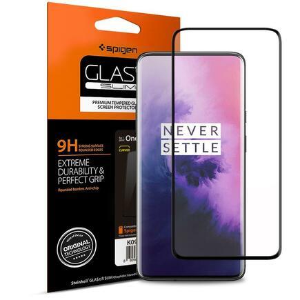 Tvrzené sklo Glas.TR Slim OnePlus 7 Pro černé