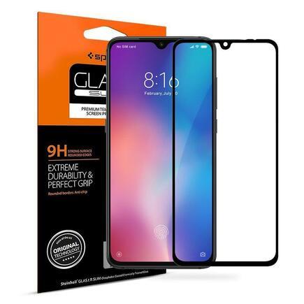 Tvrzené sklo Glass FC Xiaomi MI9 černé