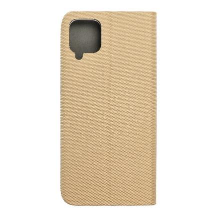Pouzdro SENSITIVE Book pro Samsung A12 zlaté