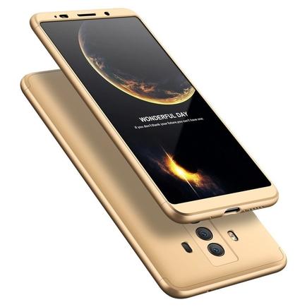 360 Protection pouzdro na přední i zadní část Huawei Mate 10 Pro zlaté