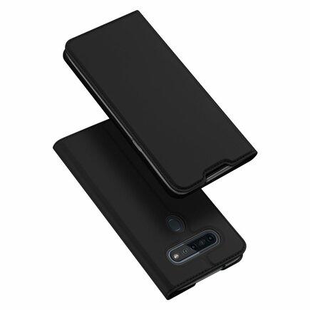 DUX DUCIS Skin Pro pouzdro s klapkou LG K51S / LG K41S černé