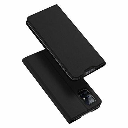 DUX DUCIS Skin Pro pouzdro s klapkou Samsung Galaxy A71 5G černé
