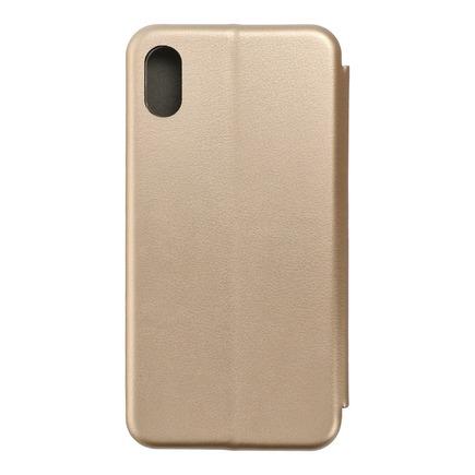 Pouzdro Book Elegance iPhone XR zlaté