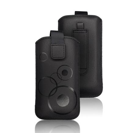 Pouzdro Deko iPhone 5 / 5S / 5SE / 5C černé